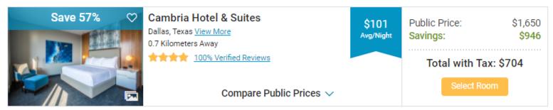 cheap hotel room in Dallas