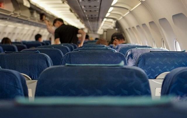 people inside a plane