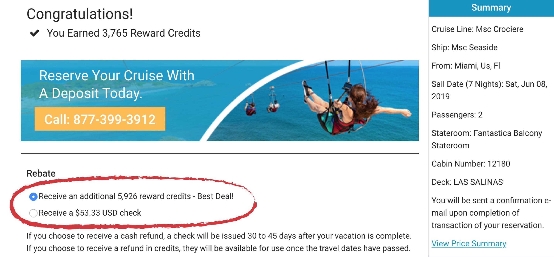 Best curises deals with the travel secret membership