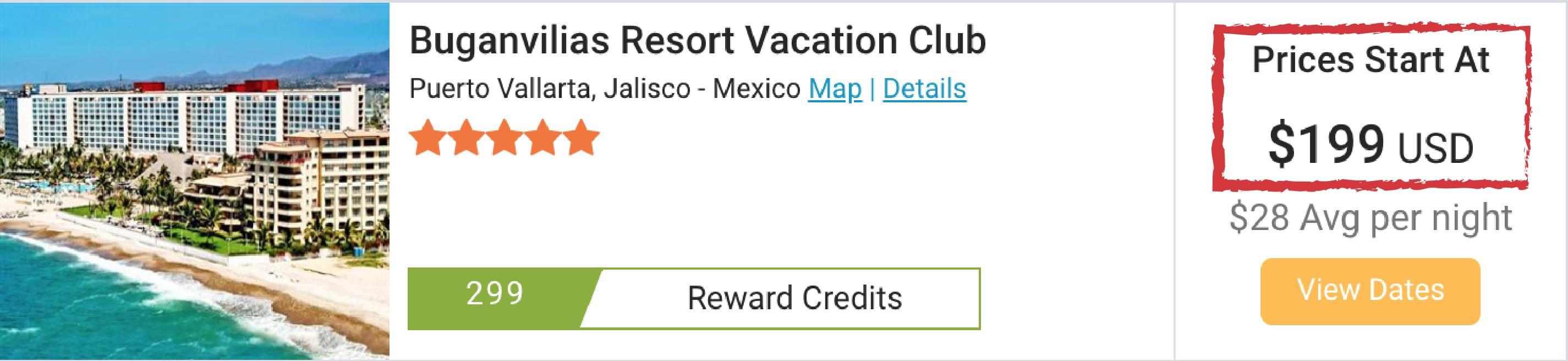 last minute hotel deal in resort vacation club in Puerto Vallarta, Mexico